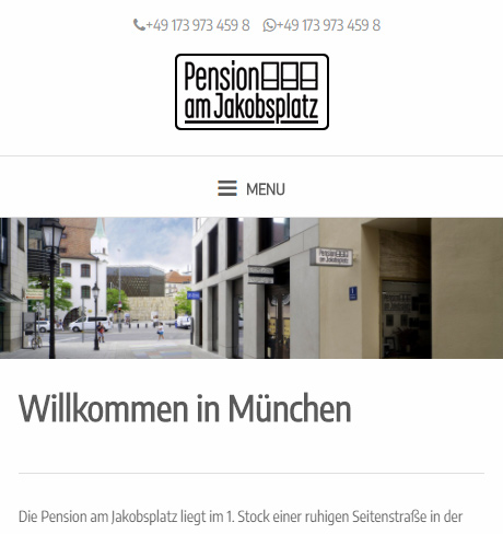 pension muenchen